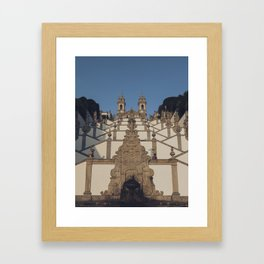 Bom Jesús do Monte Framed Art Print