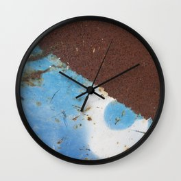 Rusty Metal Wall Clock