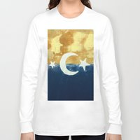moonrise Long Sleeve T-shirts featuring Moonrise by Abby Snyder