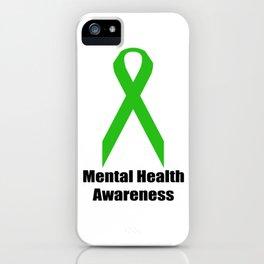 Mental Health Awareness iPhone Case