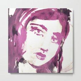 Portrait 114 Metal Print