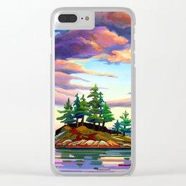 Skedans Islet Clear iPhone Case