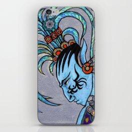 Alien Maya Elf by Alexandra Cook aka Linandara iPhone Skin