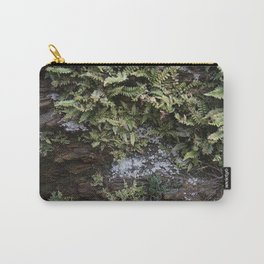 Fern Covered Coastal Cliff Face Carry-All Pouch