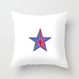 Flag of UK 14- London,united kingdom,england,english,british,great britain,Glasgow,scotland,wales Throw Pillow