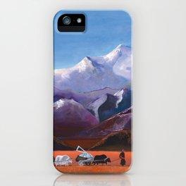 Nomadic Life - Mongolian Steppes iPhone Case