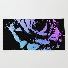Splattered Rose Beach Towel