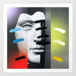 Composition on Panel 18 Art Print