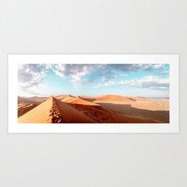 Namib desert - Dune 45 - TRAVEL PHOTOGRAPHY & LANDSCAPES Art Print