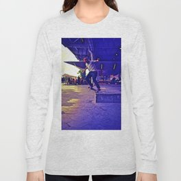 Colorful Skater Long Sleeve T-shirt