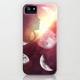 Moon Goddess Selene iPhone Case