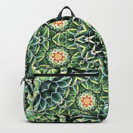 Succulent Splendor Two Backpack