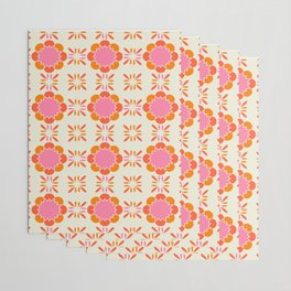 Sixties Tile Wrapping Paper