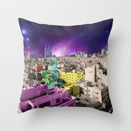 the old, the new, and the wierd Throw Pillow