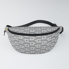 Cute White Boxer Fanny Pack