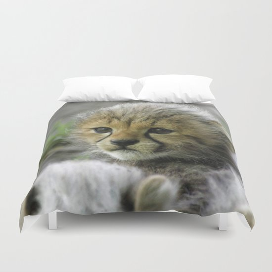 Cheetah20150908 Duvet Cover