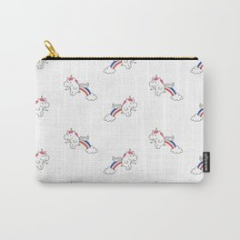 Pooping Unicorns Carry-All Pouch
