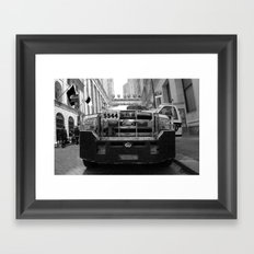 New York #02 Framed Art Print