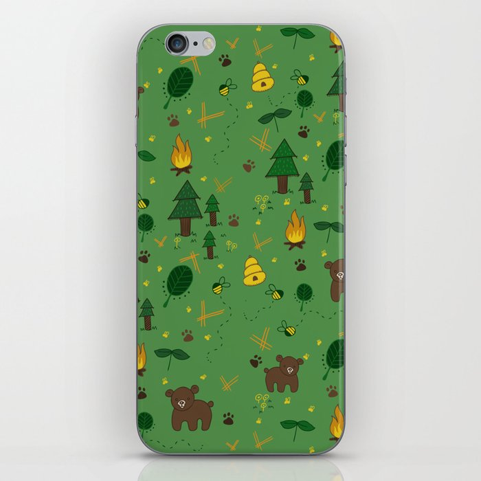 forest bears iPhone Skin