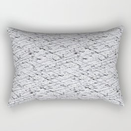 Hornfels 01 - Inky Texture Rectangular Pillow