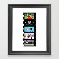 Blockbusters I Framed Art Print