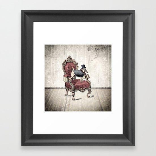 The Imperial Pug Framed Art Print