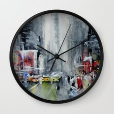New York - New York Wall Clock