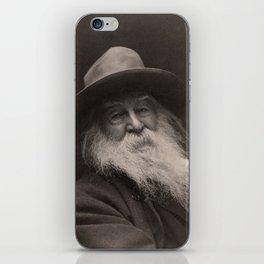 Walt Whitman- Photo By George Collins Cox iPhone Skin
