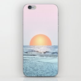 Untypical sunset II iPhone Skin