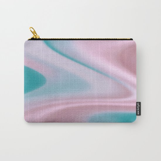 Silk Curves Carry-All Pouch