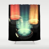 fairy tale Shower Curtains featuring fairy tale by Patrick R. Gschwind