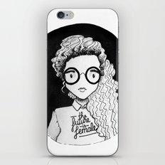The future is female iPhone & iPod Skin