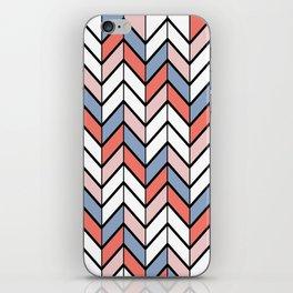 Summer Chevron iPhone Skin