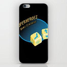 Super-Heroes-Name-Generator iPhone Skin
