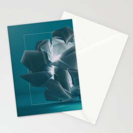 Fragmented vision Stationery Cards