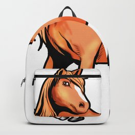 American Quarter Horse Riding Pony Backpack