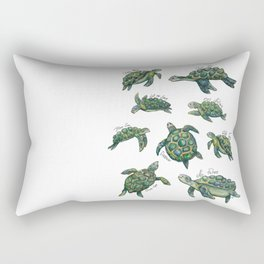 Sea Turtles Rectangular Pillow