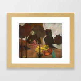 Edgar Degas - The Milliners Framed Art Print