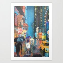 Agrabah, New York Art Print
