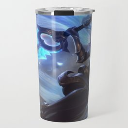 Dawnbringer Riven League Of Legends Travel Mug