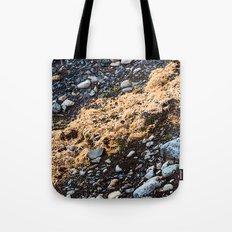 Land on the rocks Tote Bag