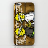 lemongrab iPhone & iPod Skins featuring Gingerbread Execution - Lemongrabs by BlacksSideshow