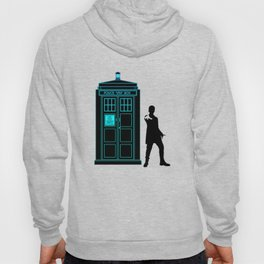 Tardis With The Twelfth Doctor Hoody