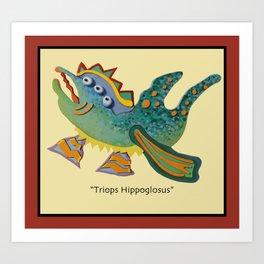 Triops Hippoglosus Art Print