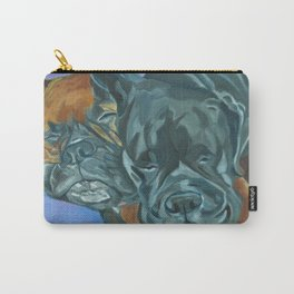Boxer Buddies Dog Portrait Carry-All Pouch