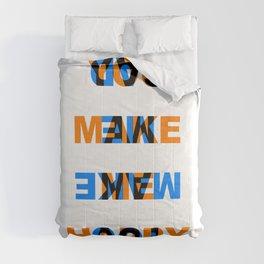 You make me Happy / Sad – reversibel Comforters