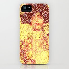 Gustav Klimt & Persian Ceramic Art inspired iPhone Case