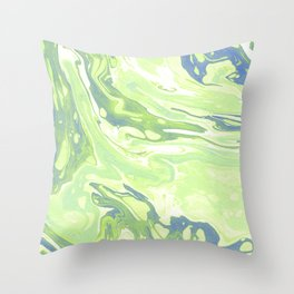 Nature forces Throw Pillow