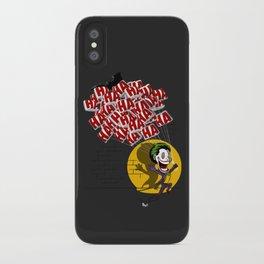 Jokahahaha iPhone Case