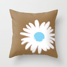 Daisy #1 Throw Pillow